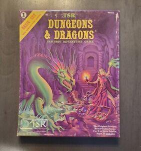 D&D Dungeons & Dragons basic set
