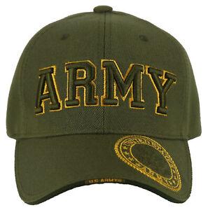 NEW! US ARMY BIG BALL CAP HAT OLIVE