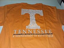 NCAA Tennessee Volunteers Team Mosaic Short Sleeve Shirt Color Orange L