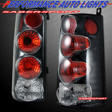 2003-2008 CHEVY GMC SAVANA EXPRESS VAN ALTEZZA TAIL LIGHTS BLACK PAIR