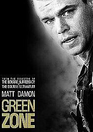 Green Zone (Blu-ray, 2010) New & Sealed