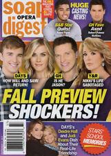 Soap Opera Digest Magazine - September 11, 2017 - Fall Preview, Dedire Hall