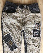 Vintage 80s 90s Major Damage Mens 32×34 Color Jeans Denim Tapered Hip Hop Street