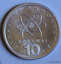 Grèce.10 drachmes Démocrite 1976 km119 aca98