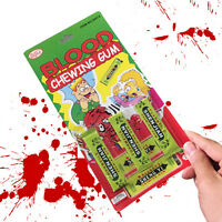 LastestSpitting blood Joke Chewing Gum Shocking Toy Prank Trick Gag Funny CE