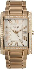 Alfex Herrenuhr 5667/771 Quarz Schweizer Qualität UVP 485 EUR
