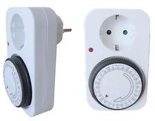 analoge Zeitschaltuhr Steckdose 230V/16A  3500W TS-WD1 Wochenprogramm