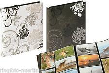 2 x Walther Fotoalbum Einsteckalbum Grindy für je 400 Fotos 10x15 schwarz+weiss