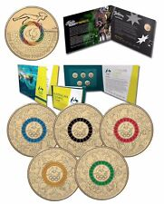 2016 Olympic & Paralympic $2 Coloured Uncirculated UNC Coins in RAM Folders