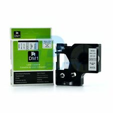 2PK Compatible Dymo D1 40913 Label Tape Black on White 9mm x 7M for LabelManager
