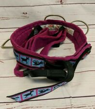 Blue Water Climbing Gear Women's Harness Panther Size L Pink Southwest