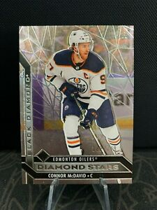 CONNOR MCDAVID 20-21 NHL Black Diamond DIAMOND STARS #/349