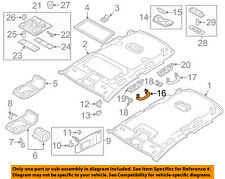 VW VOLKSWAGEN OEM Passat Interior-Roof-Inside Grip Grab Handle 561857607BY20
