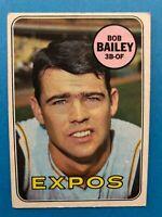 Bob Bailey 1969 Topps  Baseball Card #399 Montreal Expos