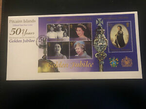 Pitcairn Islands 2002, FDC, QEII Accession, Excellent Condition