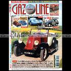 GAZOLINE N°114 RENAULT KZ 1 TORPEDO, FIAT 500 C BELVEDERE, MISMAQUE, VANDEN PLAS