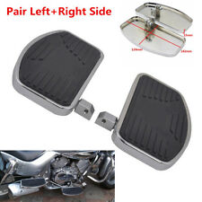 2pc Motorcycle Front Rider Foot Pedal Floorboards For Honda Yamaha Suzuki