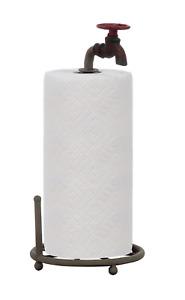 DA0075 Metal Faucet Design Paper Towel Holder, 15-Inch New