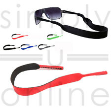 3190f3b8bd7 GLASSES LANYARD NECK CORD SUNGLASSES STRAP SPORTS NEOPRENE SWIMMING