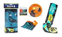 Dr Who 5 Piece Party Set - Plates, Tablecloth, Party Banner, Loot Bags, Candles