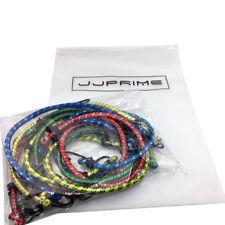 JJPRIME 12pcs Bungee Cord Elastic Luggage Straps Rope Hooks Stretch Tie Car Bike