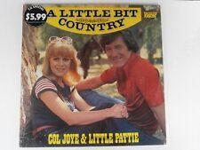 LITTLE PATTIE & COL JOYE - A LITTLE BIT COUNTRY - OZ LP