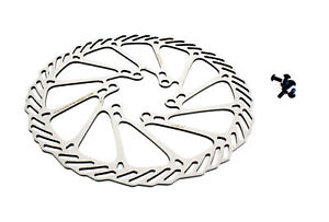 "Avid G3CS Mountain Cyclocross Bicycle Bike Disc Brake Rotor 160mm 6"" Silver"