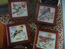 Spring Birds Cross Stitch Patterns - Barbara Sestok