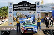 Gustavo Trelles Mitsubishi Lancer Evo VI Tour De Corse Rally 2001 Photograph 1
