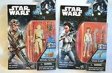 Disney Star Wars Princess Lea Organa & Rey (JAKKU) Action Figures