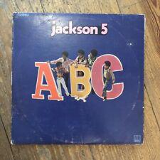 The Jackson 5 – ABC LP Vinyl WHITE LABEL PROMO Motown MS709 RARE