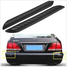 2X Car Rubber Bumper Corner Protector Anticollision Scratchproof DoorGuard Cover