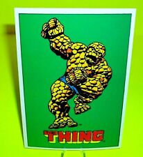 """MARVEL COMIC BOOKS 1978 Vtg RARE POSTCARD of """"THE THING"""" From Fantastic Four"""