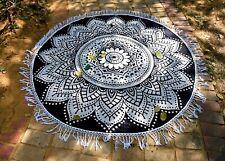 Hippie Mandala Redondo Tapiz Playa Manta India Estera de Yoga Toalla Picnic