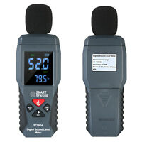 SMART SENSOR Digital Sound Level Meter Noise Measuring Decibel Tester
