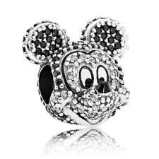 Original Pandora 791795NCK Charm Bead Disney Mickey Zirkona Kristall Neu  /114