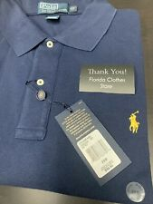 🌴NWT Polo Ralph Lauren 2XB Navy Yellow Pony 🌴 Free Shipping $89 Retail