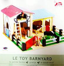 Papo  Bauernhof  Holz TV 411 Le Toy Van OVP+NEU