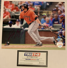 JAKE MARISNICK HOUSTON ASTROS - NEW YORK METS SIGNED PHOTO 8x10 COLOR TRISTAR
