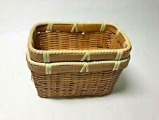 Japanese bait box made of bamboo Craft