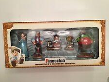 Disney Pinocchio Sketchbook Ornament Set of 5