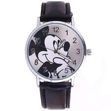 Armbanduhr Micky Maus Schwarz Damenuhr Mickey mouse NEU