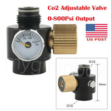 Co2 Adjustable Valve Paintball 0-800Psi Output Fill Air Tank Pcp Air Regulator