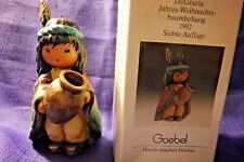 Goebel Degrazia 1992 7Th Edition Boy With Pot Ornament