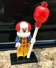 TYPE MINI FIGURINE LEGO FILM HORREUR CA IT  STEPHEN KING clown gripsou