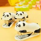 Mini Cute Panda Stapler Staples For Office Student School Home Set Plastic Paper