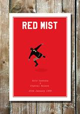 Eric Cantona Minimalist Manchester United Inspired Football Art Print Kung Fu