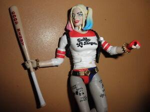 HARLEY QUINN movie FIGURE toy SUICIDE SQUAD margot robbie FEMALE batman joker