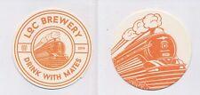 1 Tilburg-Loc Brewery beercoasters Beermat Beer Mats (29248)