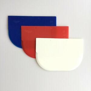 Teigkarte Teigschaber Spachtel Teigabstecher Teigkratzer 14,5 x 10 cm